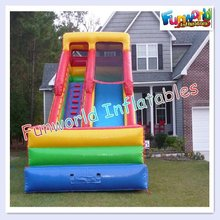 pink outdoor inflatable slides for kids and adult 2012(Slide-206)