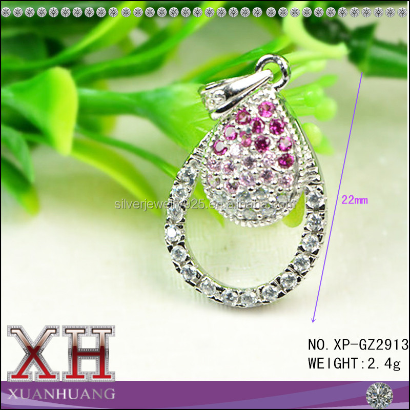 Latest Design Pendant Jewelry Settings 925 Sterling Silver Price Per Gram