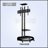 Upright tv stand