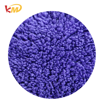 Standard 100%polyester different types of shu velveteen fabric supplier