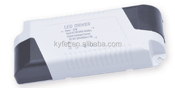 4-7W plastic power Constant Current Led Driver