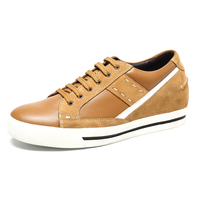 style yellow OEM canvas shoes brand casual shoes for men