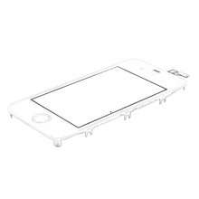 Lcd Screen Display For Iphone 4s,Black