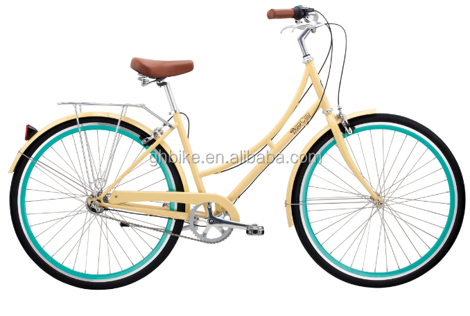 2016 New style 700C Nexus 3 speed lady city bike urban bike USA popular women urban bicycle cruiser bike