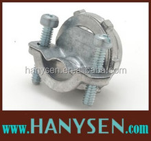 HANYSEN zinc die cast clamp connector ,BX Cable Clamp ,electrical clamp connector