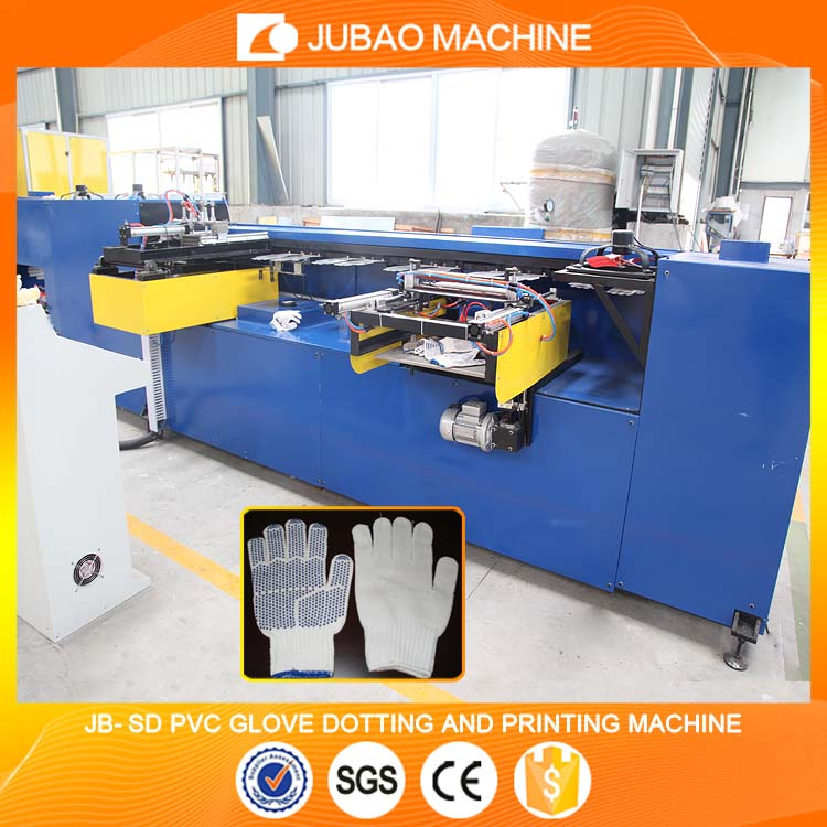 Double Printing Frame JB-SDC industrial cotton glove dotting and printing machine