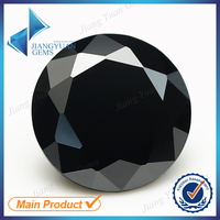2015 Jiang Yuan Gems round brilliant cut black cz