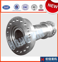 precision stainless steel forged spline shaft used in hydraulic motor