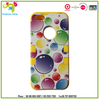 Promotional cheap silicone and PC mobile phone case for iphone