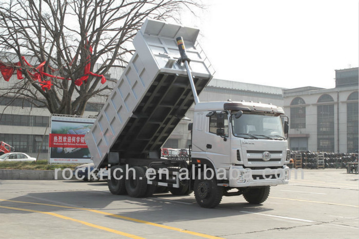 China Sitom factory diesel fuel 6x4 35 ton dumper truck
