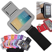 Factory sold directly hot new products for 2016 armband badge holder for mobile phone