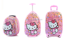 lovely Hello kitty abs+pc kids trolley bag