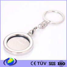 promotional gift custom metal souvenir K letter key chain with logo wholesale