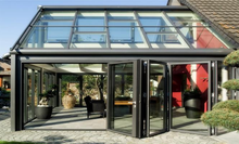 Custom size aluminum glass sunroom panels