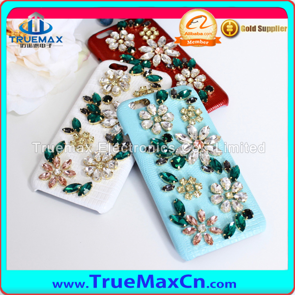 Full Bling Diamond Case For iPhone 6 6S For iPhone 6 Plus 6S Plus Wallet PU Leather Cover Mobile Phone