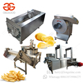 Factory Price Surgeler Finger Chips Equipment Frozen French Fries Making Machine Fully Automatic Potato Chips Production Line