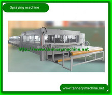 China spray chrome plating machine for leather