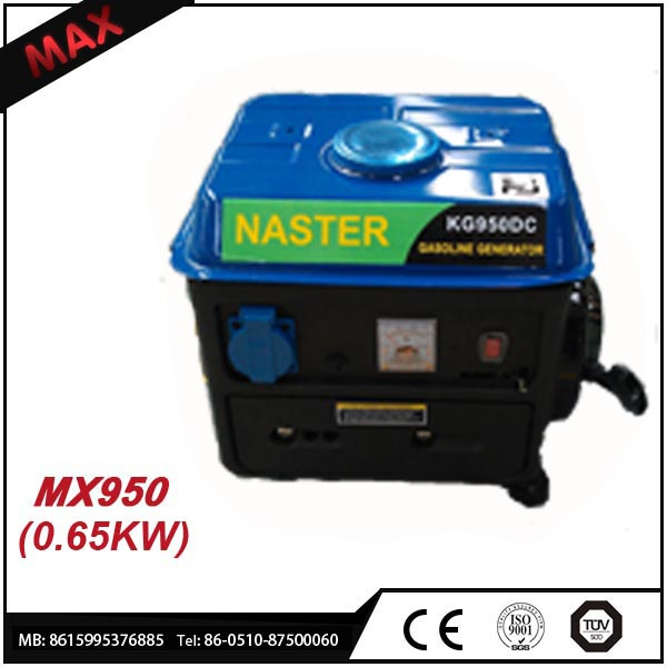 Best!!! 650W Small Gas LPG Biogas Generator Electric