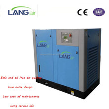 Tested Dental Grade 18.5KW 25HP Quiet Oil Free Screw Air Compressor For Promotion