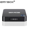 High quality EM95X Android 6.0 TV BOX S905X quad core tv box 1+8G Full HD Media Player Network player network TV Set Top Box