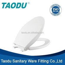 bathroom sanitary ware Elongated Plastic Toilet Seat Cover with quick release function