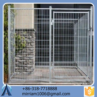 Outdoor new design fashionable durable and anti-rust large dog kennel/pet house/dog cage/run/carrier