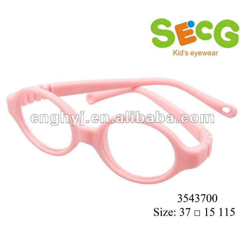 2015 Lovely TR90/Rubber Glasses Frame For Kid