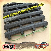 universal sand ladder snow blower rubber track for vehicles