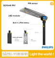 CE Rosh IP67 home garden 15W to 30W integrated solar street light