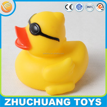 baby yellow duck floating bath toys