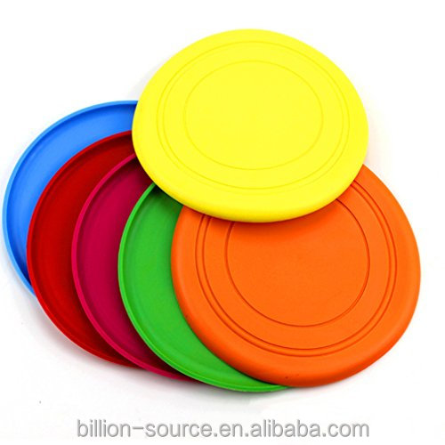 Custom professional promotional dog frisbees for sale