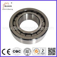 Wedge type cylindrical plastic thrust roller bearing