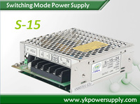 S-15-12 15W 12V 1.3A AC input DC output switch mode power supply