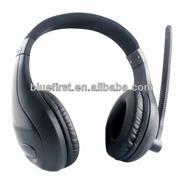 Big head phone for computer digital head phone