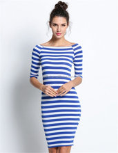 wholesale custom clothing manufacturers polyster/cotton ladies casual summer dresses bodycon stripe sexy names of girls dresses