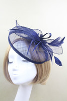 Party Decorative Women's Fascinator Hat Made of Philippine Sinamay