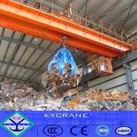 Garbage grab overhead crane machine for sale