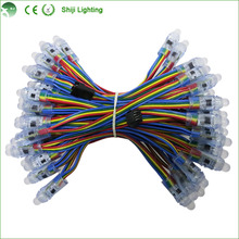 12mm diffused thin digital rgb led pixels ws2801 ws2811 dc5v