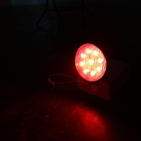 Accessories car red/amber/white 27w work light ,4'' round /square driving light for atv 250cc 4x4