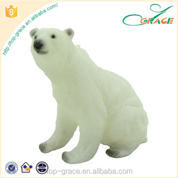 polyresin polar bears decoration for home