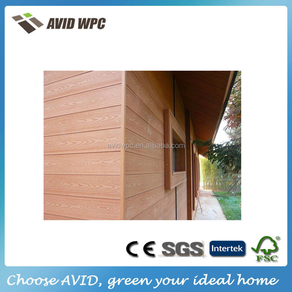 external wood plastic composite wpc decorative wall panel cladding flooring