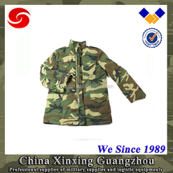 Outdoor Men's Tactical M65 Filed Waterproof Softshell Jacket with 80% cotton and 20% polyester