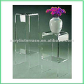 Acrylic Lucite pedestal,acrylic side table,telephone table
