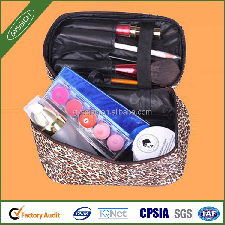 Promotion Custom hard case cosmetic bag