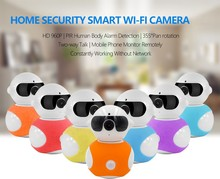 Low price quality system home security hd 720p wifi mini cctv camera with memory card