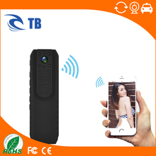 Smallest Pocket Wifi Camera HD CMOS Police Body Worn Video Camera Full HD 1296P DVR IR Camera For Andriod IOS