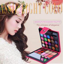 32 color multi colored foundation eyeshadow palette magnetic Mascara waterproof cake foundation makeup