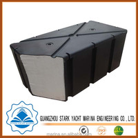 Top quality foam filled floatation , polyethylene plastic pontoon floats with competitive price