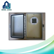 Outdoor waterproof timer switch with plastic enclosure