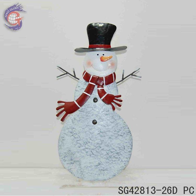 Metal christmas snowman outdoor standing decorations buy